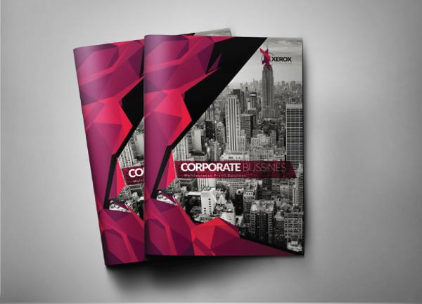 a4 modern brochure