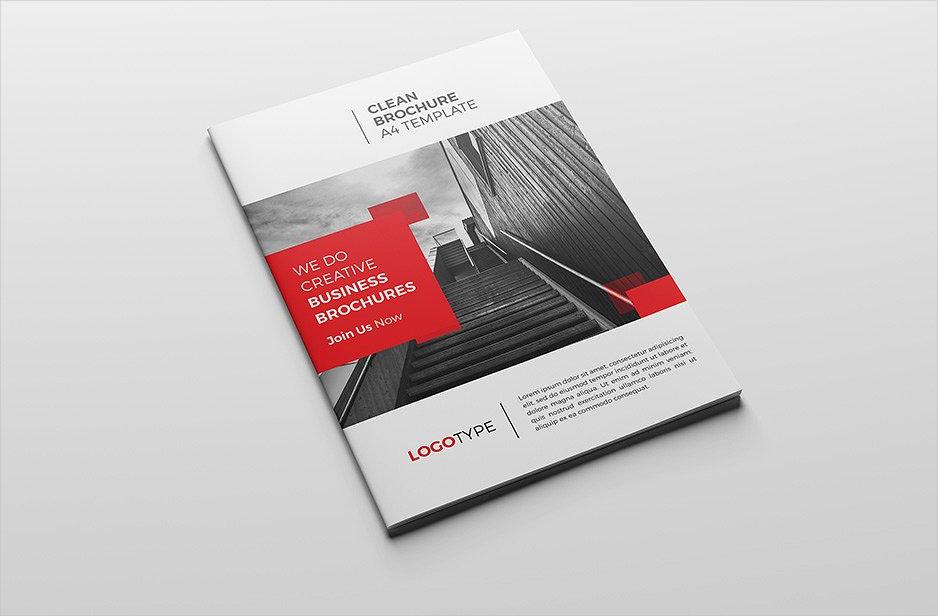 a5 corporate brochure