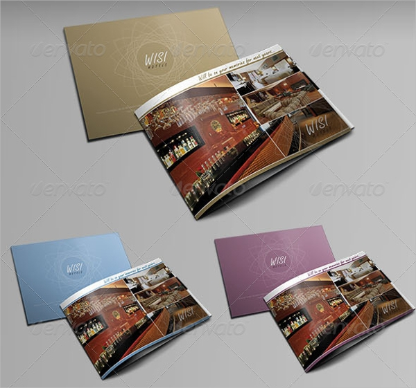 a5 instyle hotel brochure