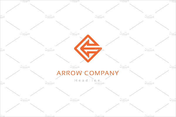 arrow logo company template