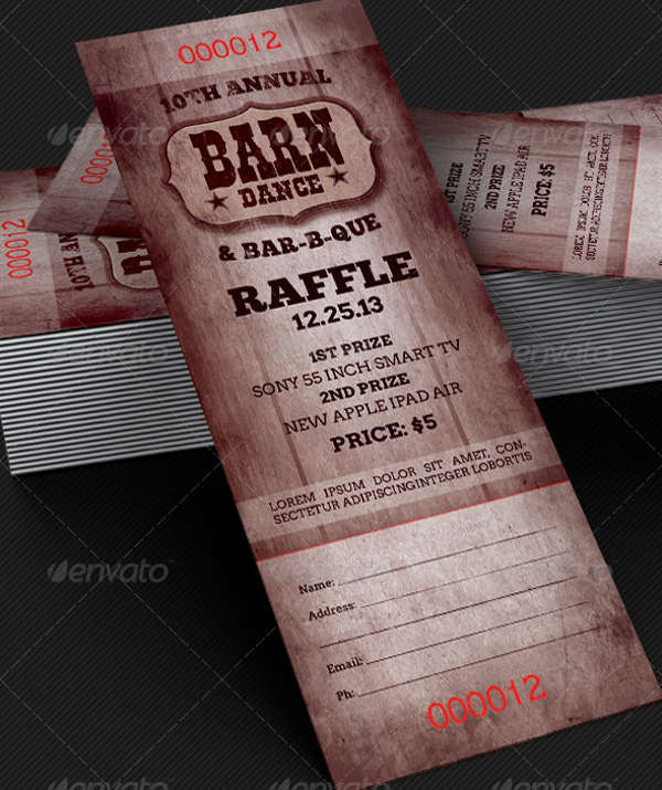 bbq ticket template free - 37 ticket templates download
