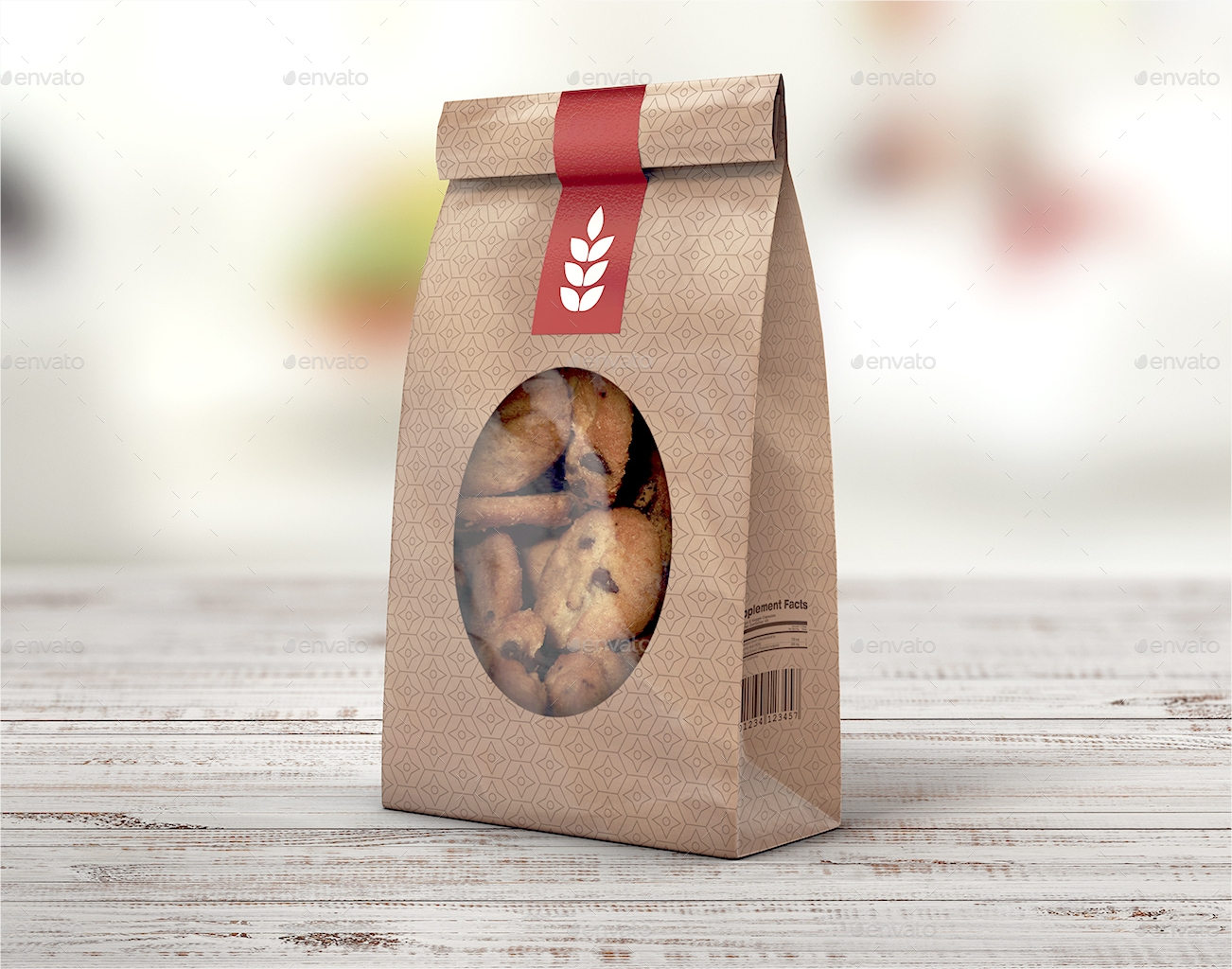 bakery cookie product packaging