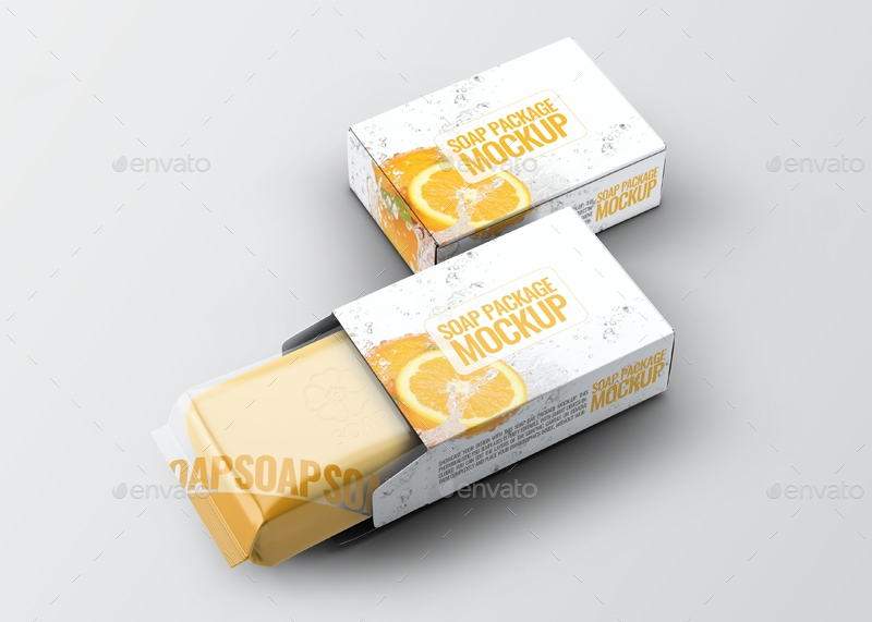 bath soap packaging design