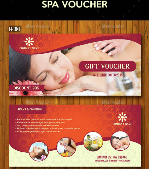 beauty spa voucher