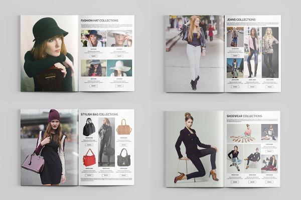 bi fold fashion brochure