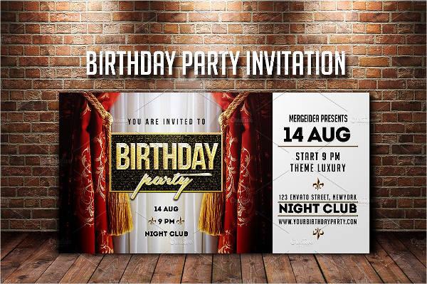 birthday party invitation card1