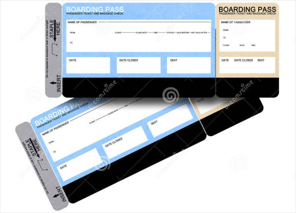 blank airline ticket template1