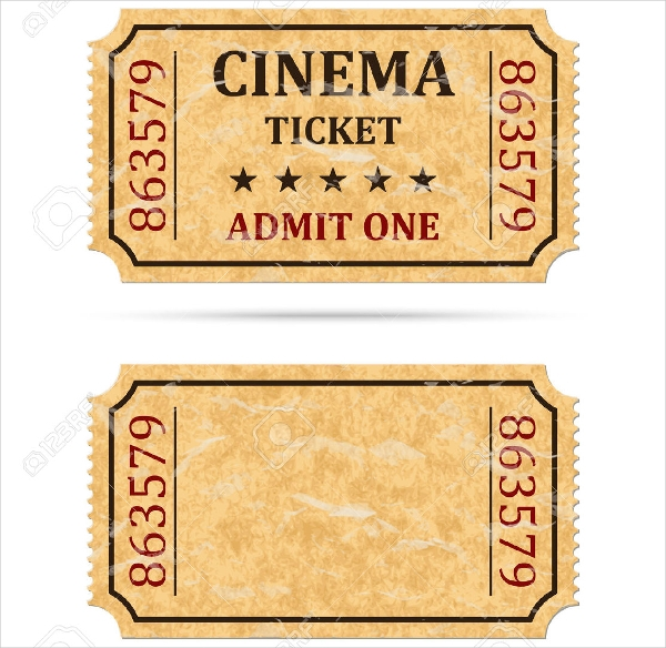 Theater Ticket Template from images.downloadcloud.com