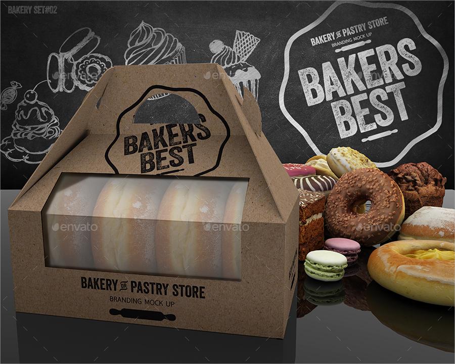 branding bakery product