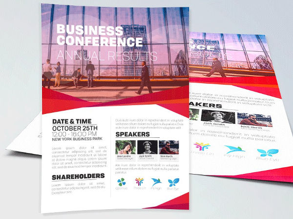 business conference event flyer1