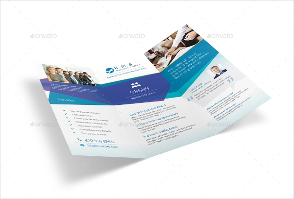 business consulting service brochure