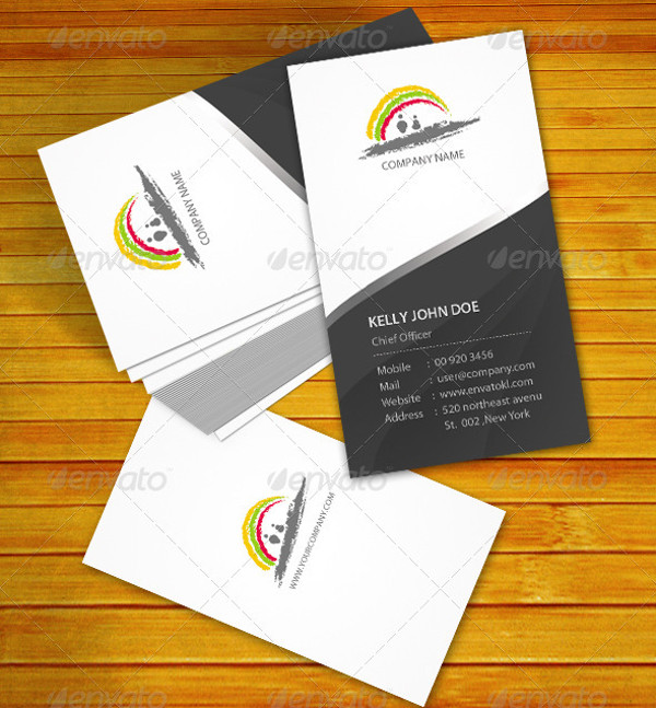 business visiting card logo
