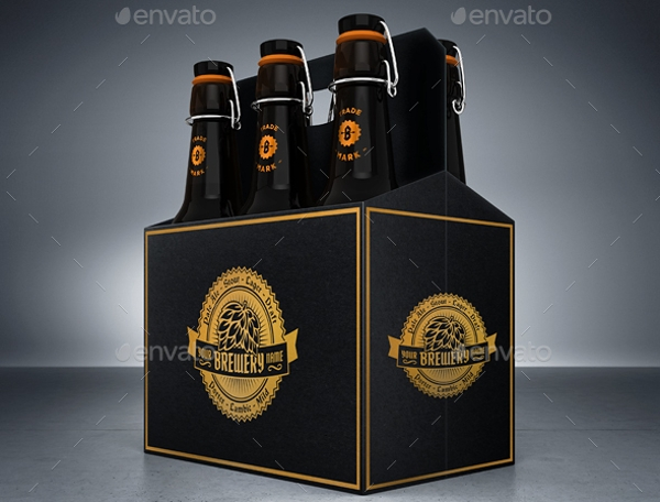 cardboard beer packaging
