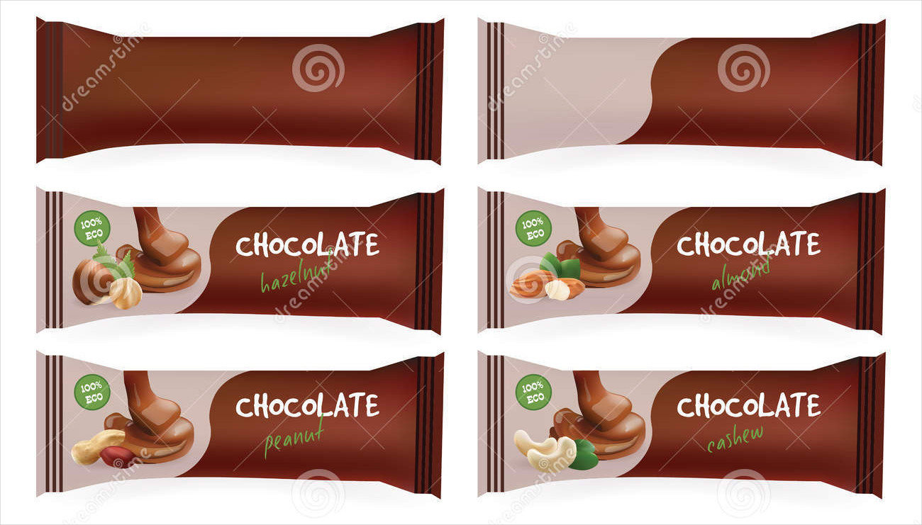 chocolate bar packaging design