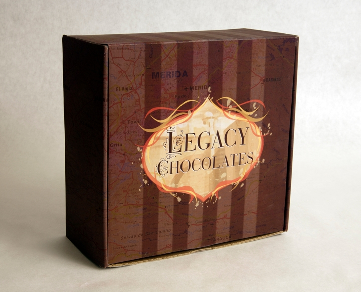 chocolate box packaging design