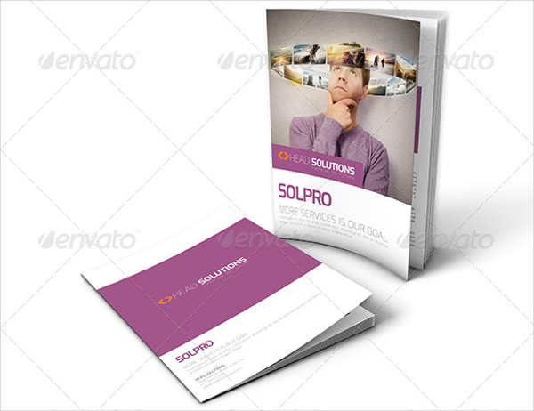 clean corporate service brochure
