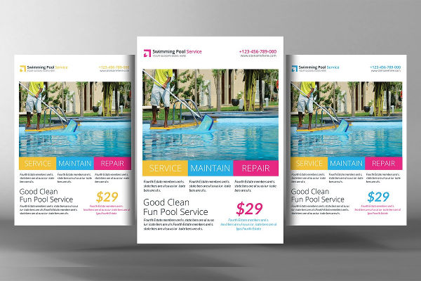 cleaning service business flyer