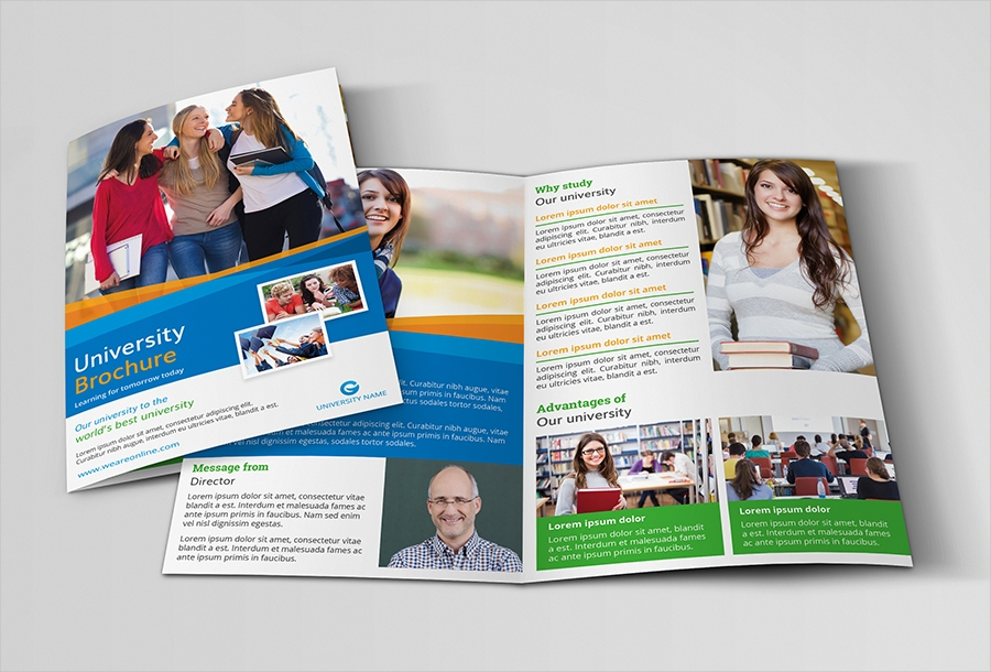 college education brochure