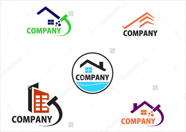 commercial cleaning company logo