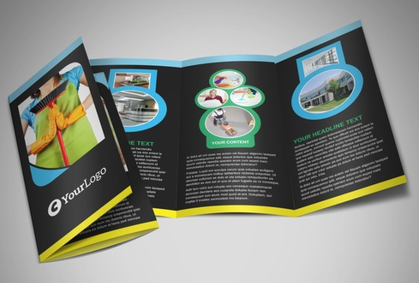 commercial cleaning service brochure