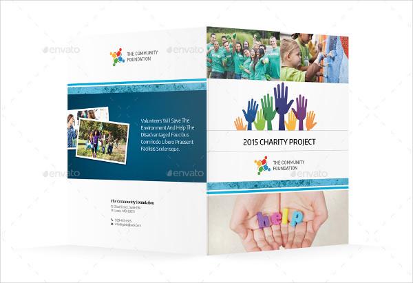 community service bi fold brochure