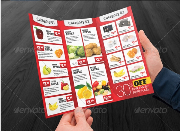 consumer product brochure