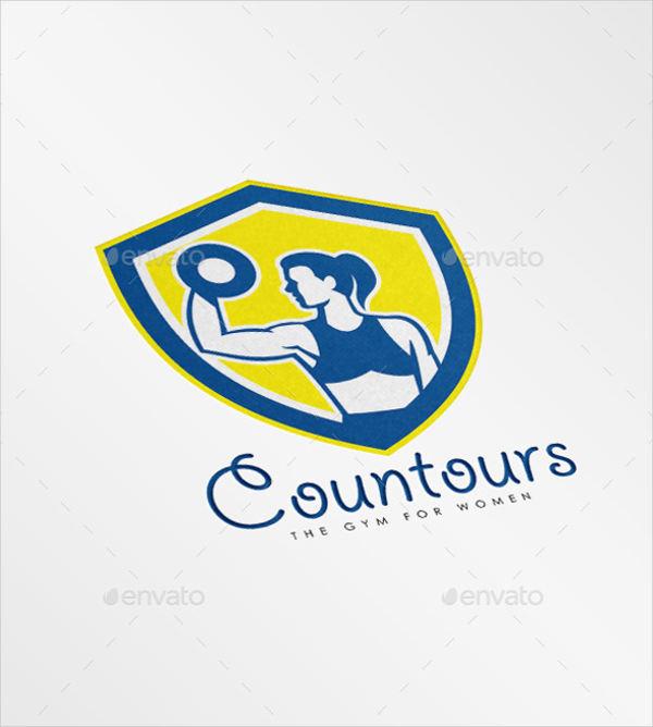 contours gym for women logo