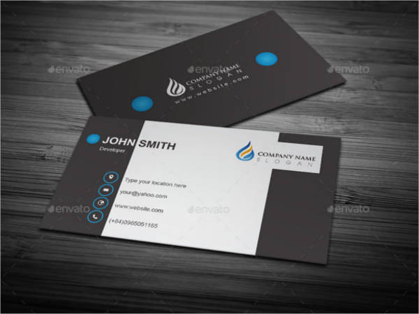 cool business card design eps format