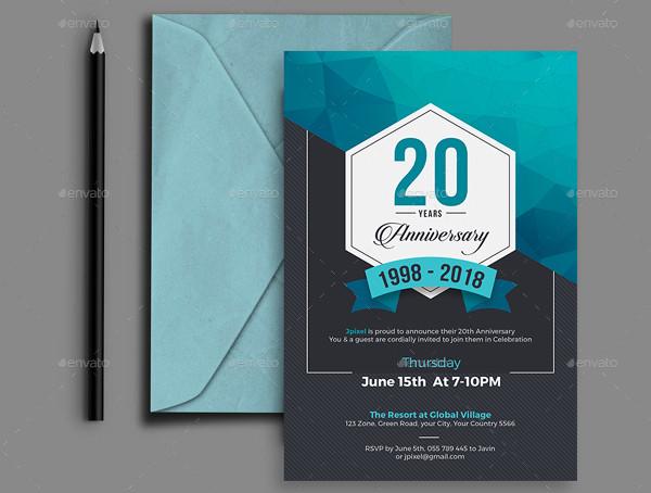 corporate anniversary party invitation2