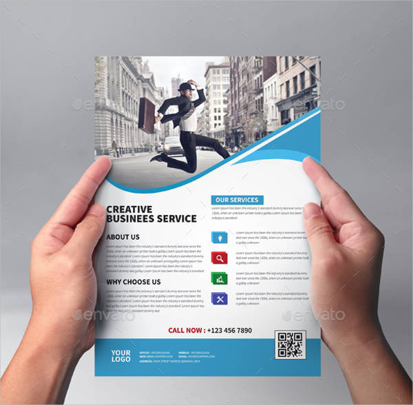 29 Downloadable Business Flyer Templates