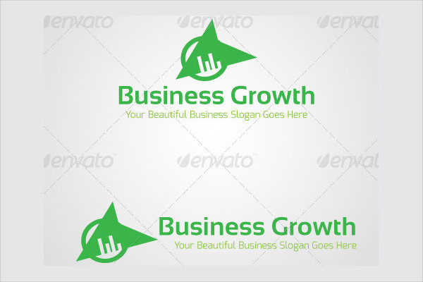 corporate business growth logo