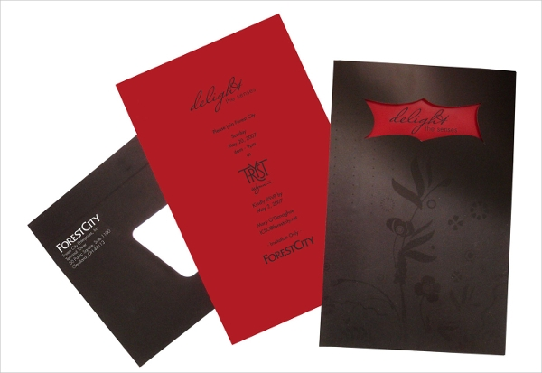 corporate dinner invitation