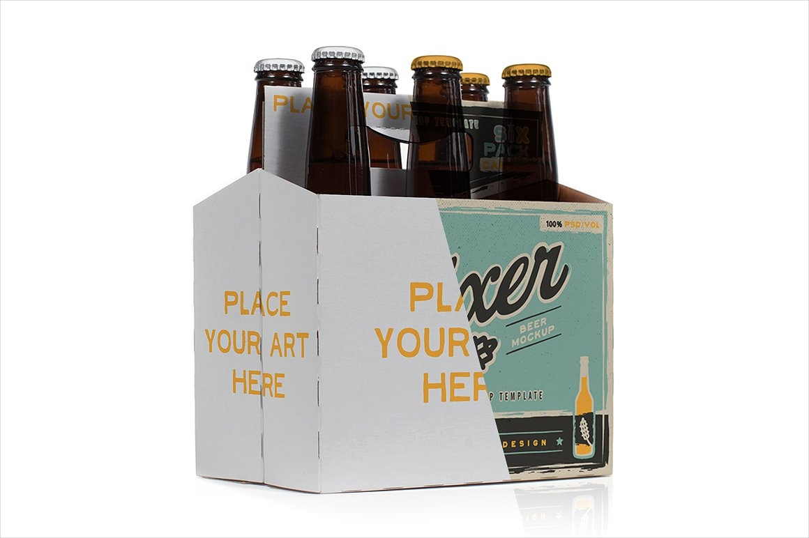 creative beer bottle