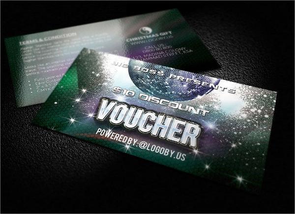 creative gift voucher design