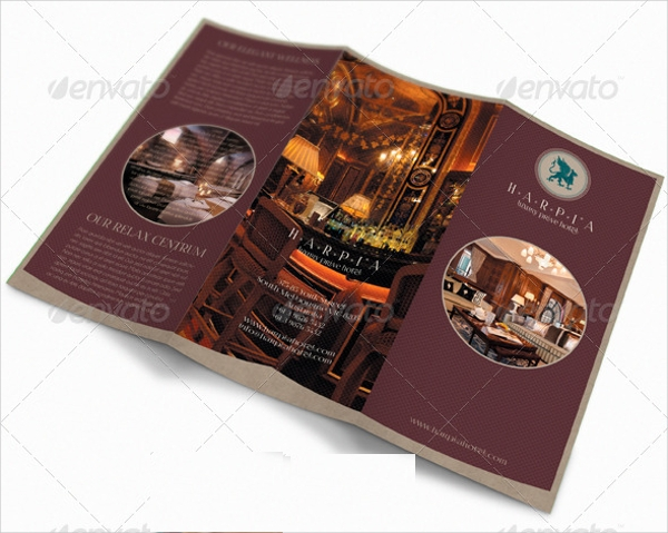 creative hotel brochure