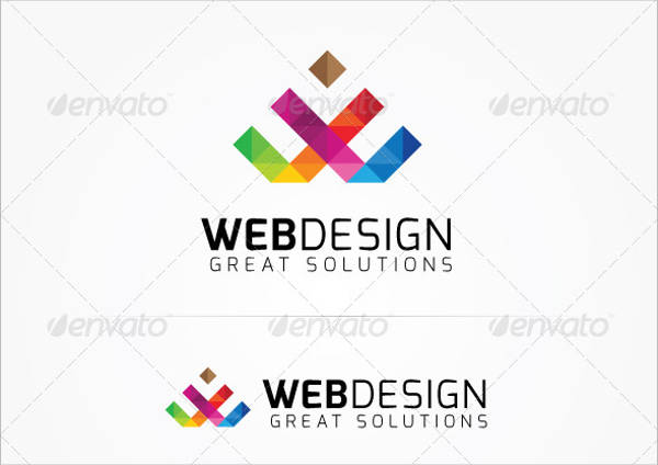 creative web design logo