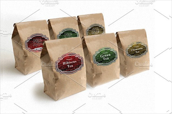 custom label packaging design
