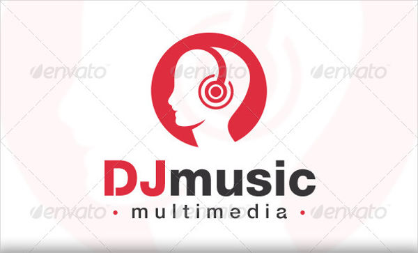 dj music company logo2