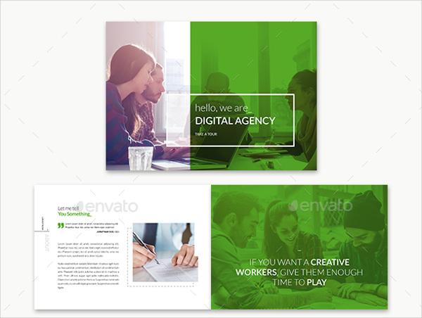 digital advertising agency brochure