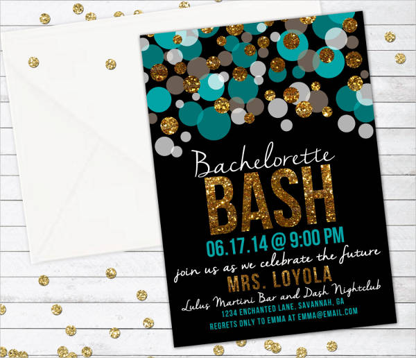 diy bridal party invitation
