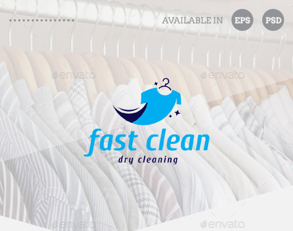 dry cleaning business logo