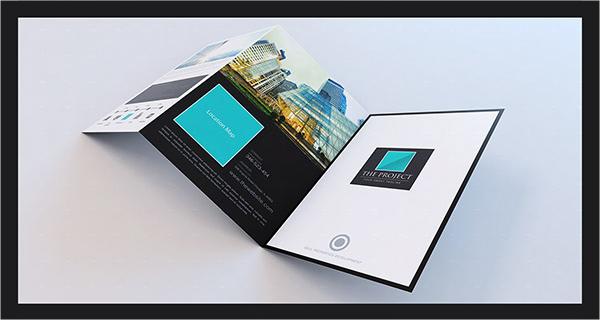 elegant large trifold property brochure1