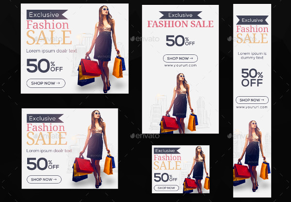 fashion clothing banner design