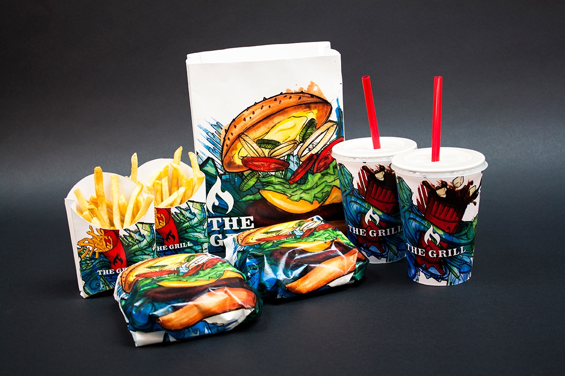 fast food packaging design