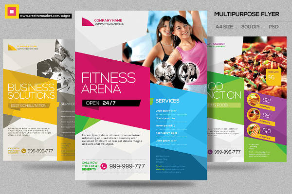 fitness training class flyer1