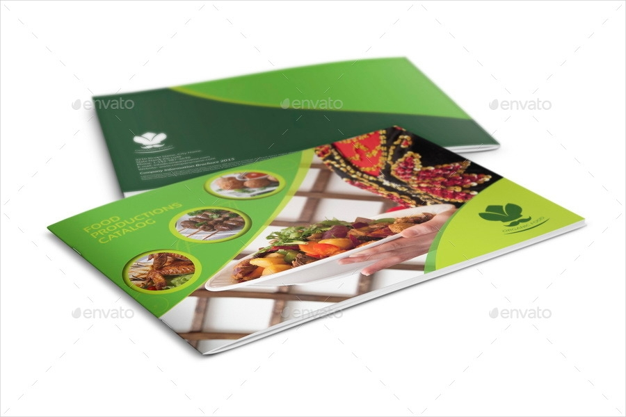 food product brochure