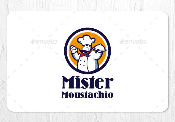 food restaurant business logo