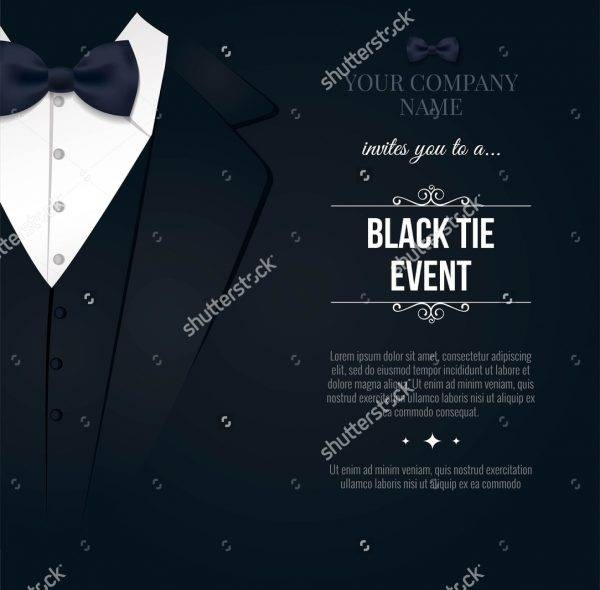 Formal Business Event  Business Event Invitation