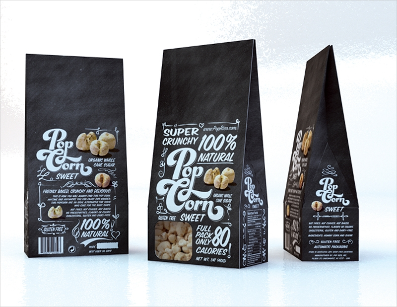free awesome retro packaging design