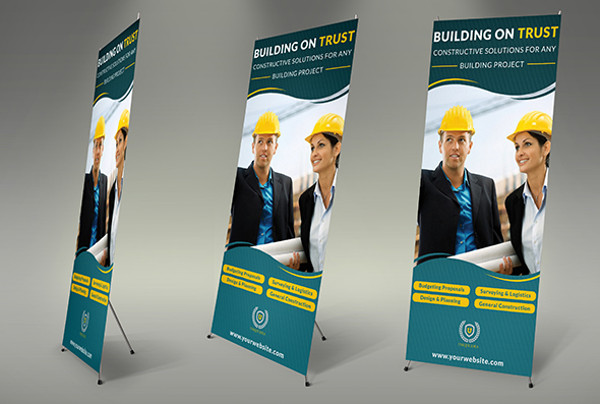 free construction business banner